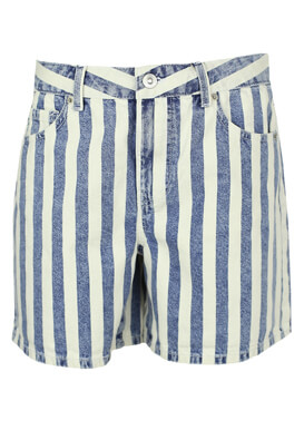 Pantaloni scurti Pieces Wendy Blue