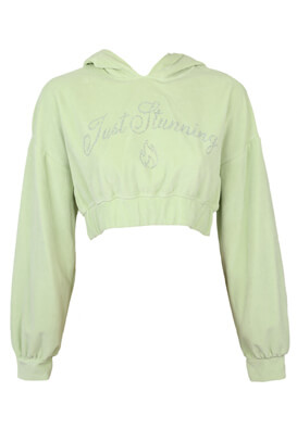 Hanorac Bershka Anna Light Green