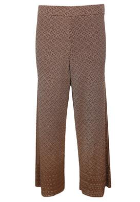 Pantaloni ZARA Hanna Brown