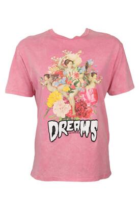 Tricou BSK Kendra Pink