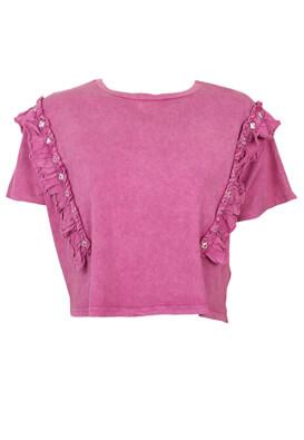 Tricou BSK Vera Dark Pink