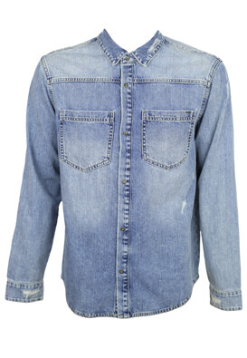 Camasa Only and Sons Nick Light Blue