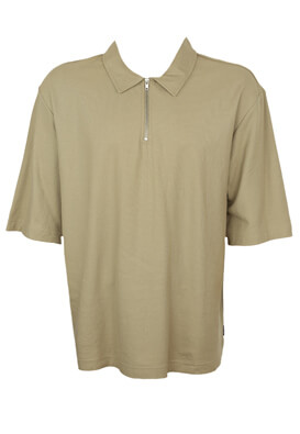 Tricou polo Only and Sons Mikey Beige