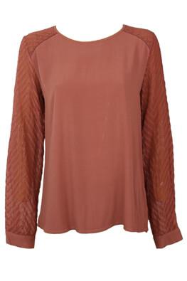 Bluza Object Odette Dark Pink