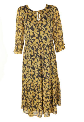 Rochie Object Francesca Dark Yellow