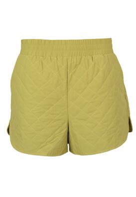Pantaloni scurti Object Lilly Light Green