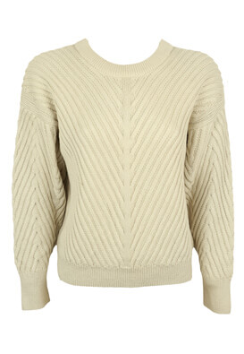 Pulover Object Patricia Light Beige