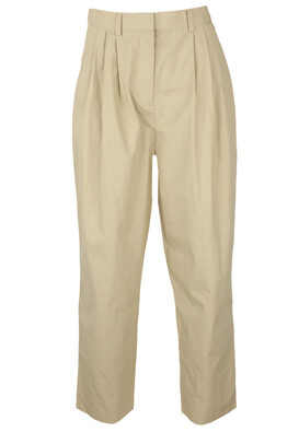 Pantaloni Object Tina Light Beige