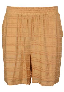 Pantaloni scurti Object Tasha Beige