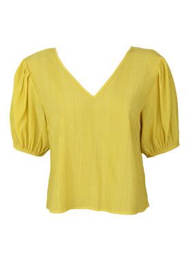 Tricou Object Olivia Yellow