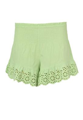 Pantaloni scurti Bershka Allegra Light Green