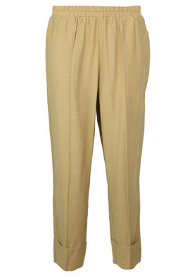 Pantaloni YAS Jodie Beige
