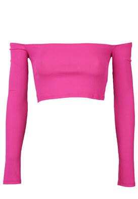 Bluza Bershka Emma Dark Pink