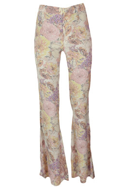 Pantaloni ZARA Floral Colors