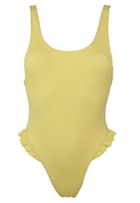 Costum de baie Bershka Patricia Yellow