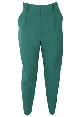 Pantaloni ZARA Anya Dark Green