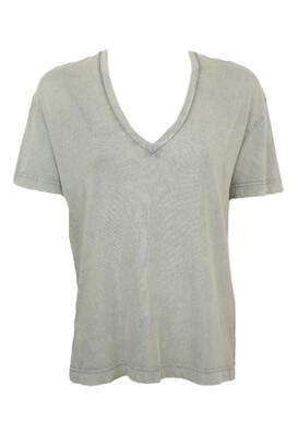 Tricou ZARA Meghan Light Grey
