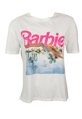 Tricou ZARA Barbra White