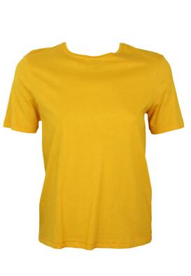 Tricou ZARA Abbie Dark Yellow