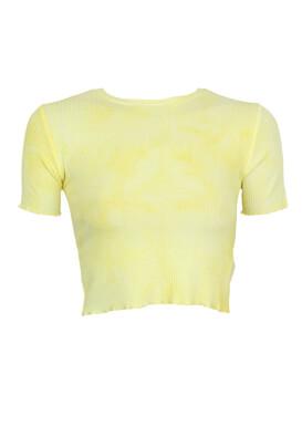 Tricou Pull and Bear Sabrina Light Yellow