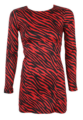 Rochie Pull and Bear Brenda Red