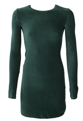 Rochie Pull and Bear Amy Dark Green
