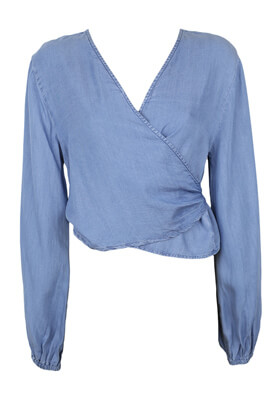 Bluza Pull and Bear Wendy Light Blue
