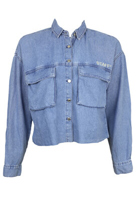Camasa Pull and Bear Rosie Light Blue