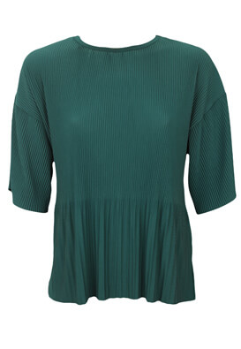 Tricou ZARA Hilary Dark Green
