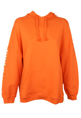 Hanorac Pull and Bear Kitty Orange