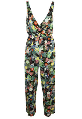 Salopeta Pull and Bear Floral Colors