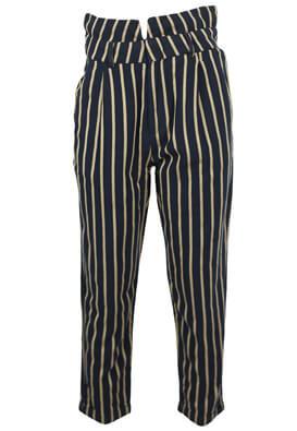 Pantaloni Pull and Bear Fiona Dark Blue