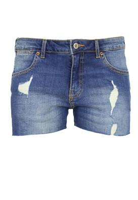 Pantaloni scurti Pull and Bear Stella Blue