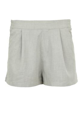 Pantaloni scurti Pull and Bear Amy Light Grey