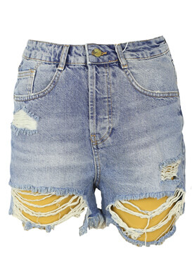 Pantaloni scurti ZRA Ashton Blue