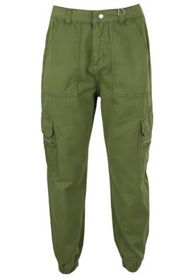Pantaloni ZARA Sharon Dark Green