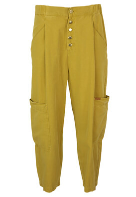 Pantaloni ZARA Maya Dark Yellow