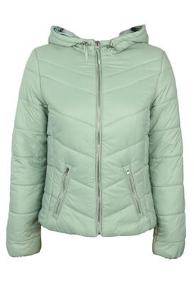Geaca Bershka Georgia Light Green