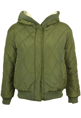 Geaca ZARA Reversible Dark Green