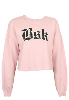Bluza Bershka Sabrina Light Pink