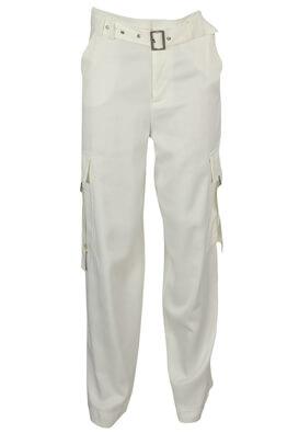 Pantaloni ZARA Georgia White