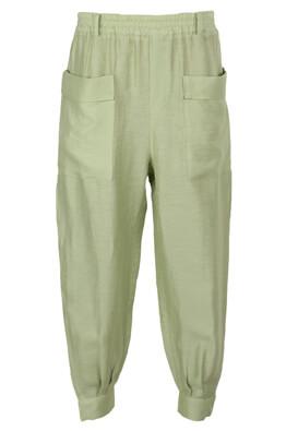 Pantaloni ZARA Georgia Light Green