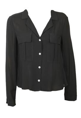 Camasa ZARA Basic Black
