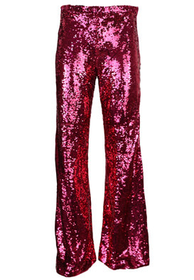 Pantaloni ZARA Julia Dark Pink