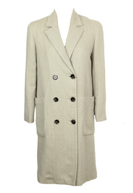 Palton ZARA Nastasia Light Grey