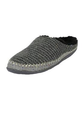 Papuci de casa TOMS Ivy Dark Grey