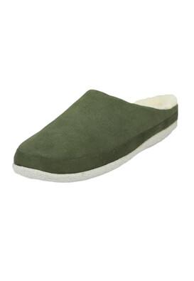 Papuci de casa TOMS Julia Dark Green