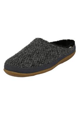 Papuci de casa TOMS Olivia Dark Grey