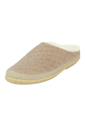 Papuci de casa TOMS Irene Light Grey