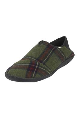Papuci de casa TOMS George Dark Green